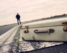 er läuft, Koffer bleibt